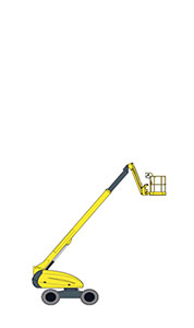 H 21 TX - Telescopic boom