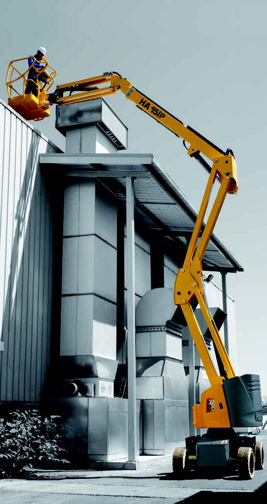 Electric - Articulated Boom Lifts